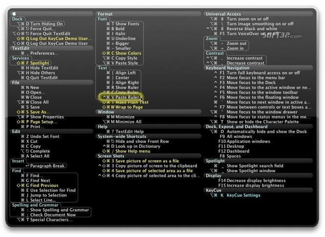 KeyCue Screenshot 3
