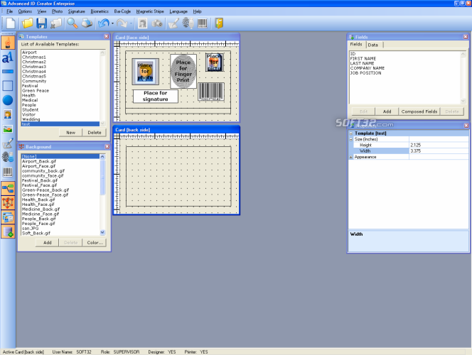 Advanced ID Creator Professional Screenshot 5