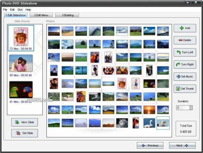 Adusoft Photo DVD Slideshow Screenshot 3