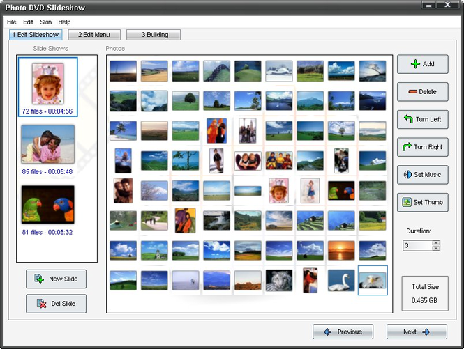 Adusoft Photo DVD Slideshow Screenshot 1