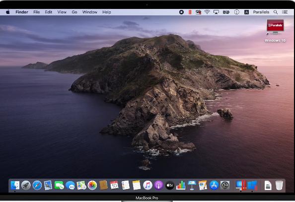 Parallels Desktop for Mac Screenshot