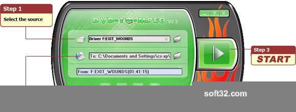 DVD-TO-MPEG Screenshot 3