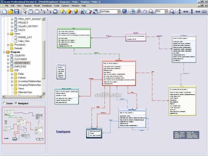 Xcase Professional Trial Edition Screenshot 3