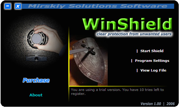 WinShield Screenshot 1