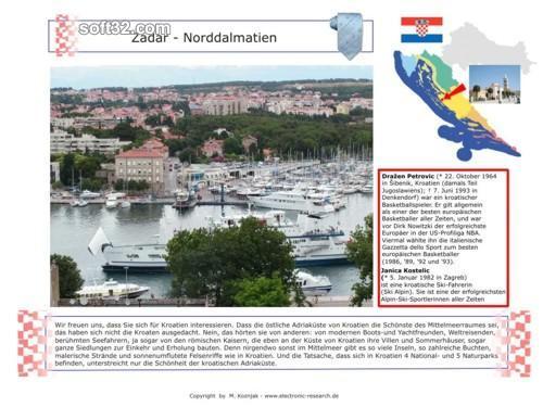 Croatia ScreenSaver Screenshot 3