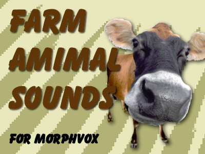 Farm Animal Sounds - MorphVOX Add-on Screenshot