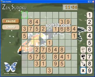Zen Sudoku Screenshot