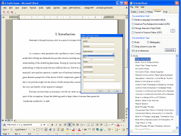 ScholarWord Professional Edition Screenshot