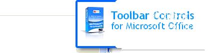 Toolbar Controls .NET for Microsoft Office Screenshot