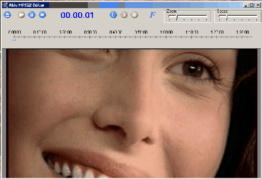 Able MPEG2 Editor Screenshot 1