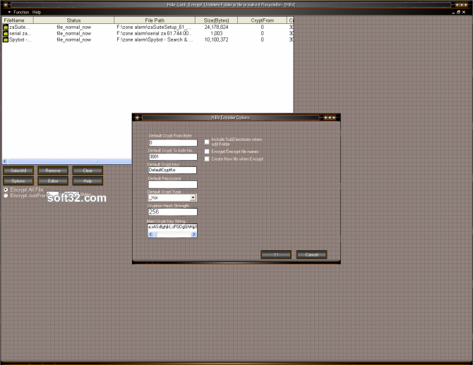 Hide Folder HiBit Screenshot 4