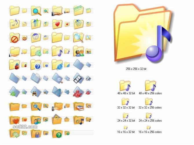 Folder Icon Set Screenshot 3
