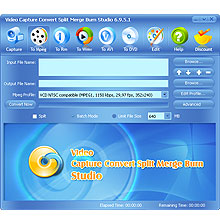 McFunSoft Video Capture/Convert/Split/Merge/Burn Studio Screenshot