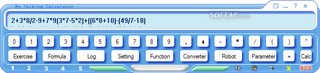 My Talking Calculator Screenshot 3