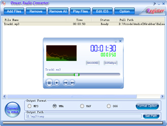 Power Audio Converter Screenshot