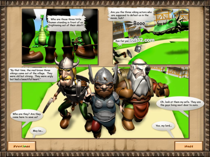 The Tale of Three Vikings Screenshot 2