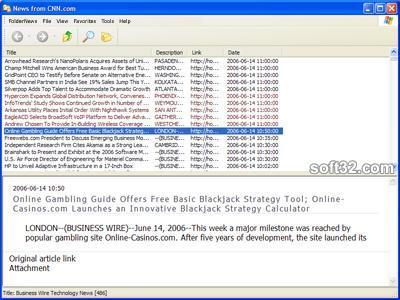 FolderNews Screenshot 2