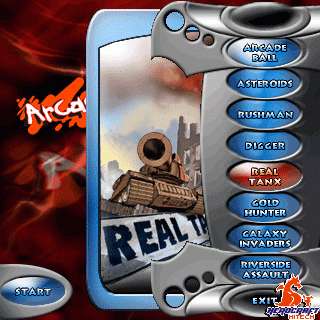 Arcade Park for Palm OS Screenshot 1