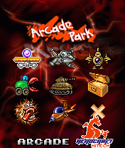 Arcade Park for Symbian UIQ Screenshot
