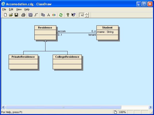 ClassDraw Screenshot