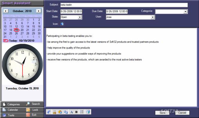 SmartAssistant Screenshot 4