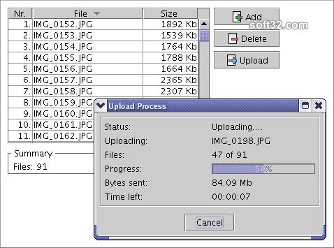 MyUploader Screenshot 3