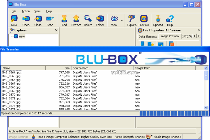 BLUBOX Screenshot 3