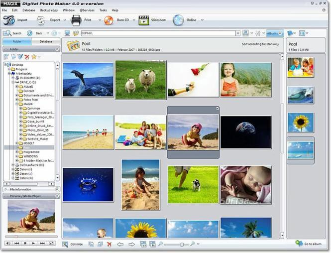 MAGIX Digital Photo Maker Screenshot 3