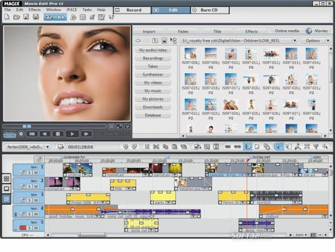 MAGIX Movie Edit Pro Screenshot 5