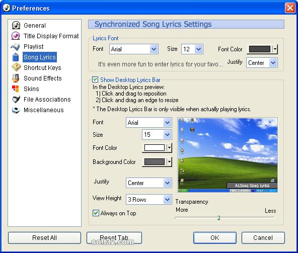 ALSong Screenshot 4