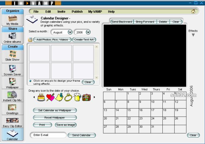 VAMP Media Center Screenshot 6