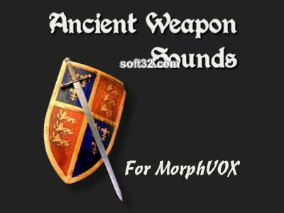 Ancient Weapon Sounds - MorphVOX Add-on Screenshot 2