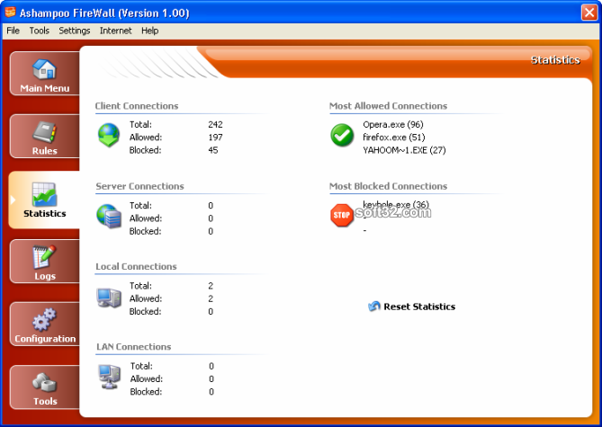 Ashampoo Firewall FREE Screenshot 3