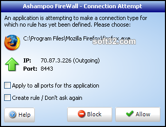 Ashampoo Firewall FREE Screenshot 4