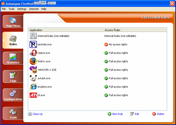 Ashampoo Firewall FREE Screenshot 5