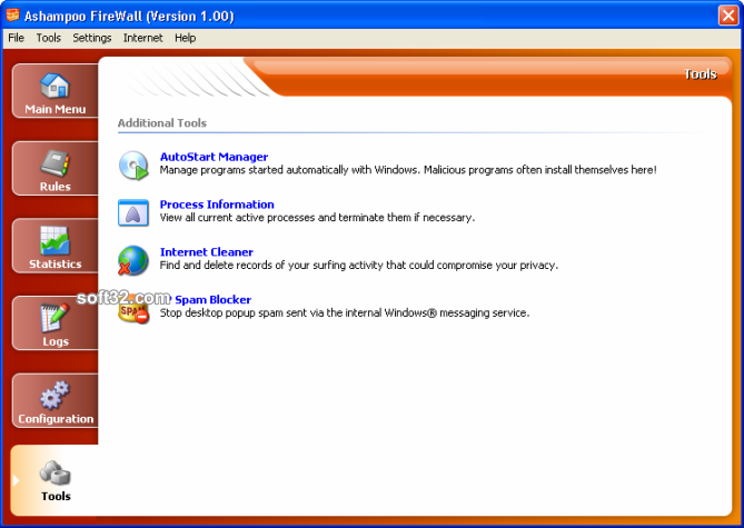 Ashampoo Firewall FREE Screenshot 6