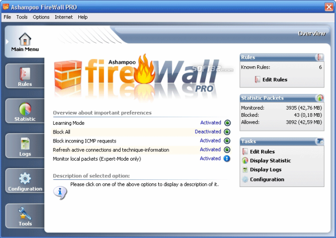 Ashampoo Firewall FREE Screenshot 2