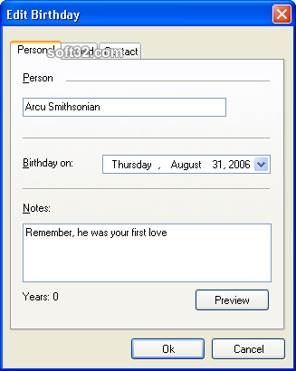 Happy Birthday XP Screenshot 2