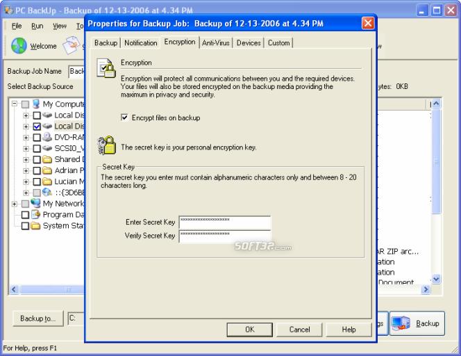 PC Backup Screenshot 5