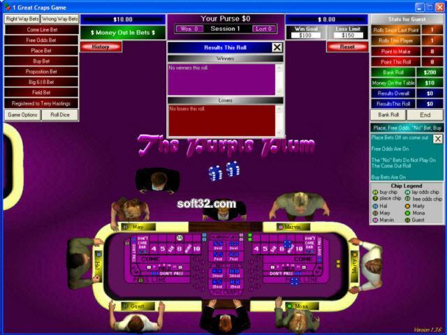 1 Great Craps Game Screenshot 3