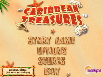 Caribbean Treasures Screenshot 1