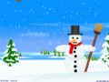 Happy Snowman Screensaver 1