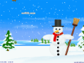 Happy Snowman Screensaver 2