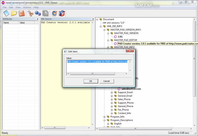 XML Viewer Screenshot 2