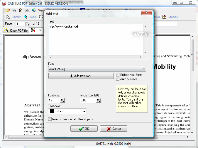 CAD KAS PDF Editor Screenshot 4