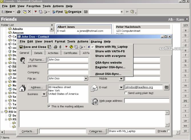 OsaSync PRO Screenshot 2