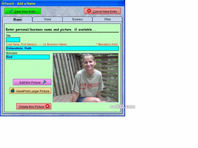 InTouch Screenshot 3