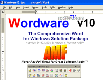 Wordware Screenshot