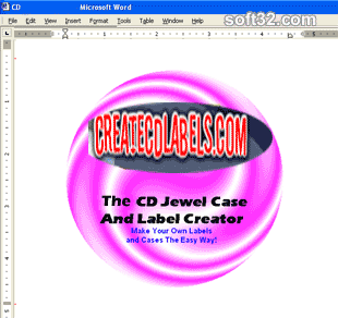 CD and DVD Jewel Case and Label Creator Screenshot 3