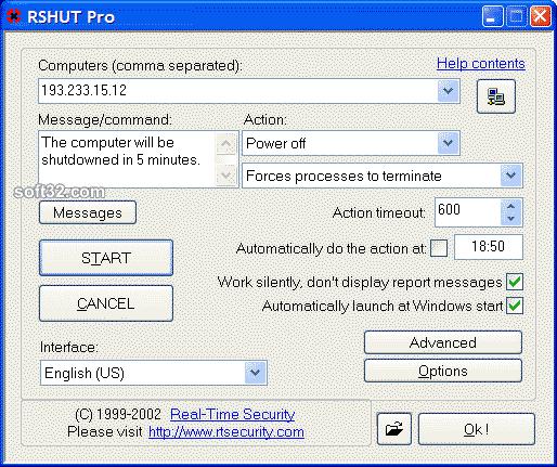 RSHUT PRO Screenshot 3